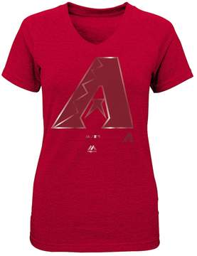 Majestic Girls 7-16 Arizona Diamondbacks Slider Tee