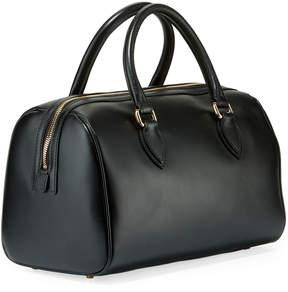 Roberto Cavalli Calf Leather Satchel Bag