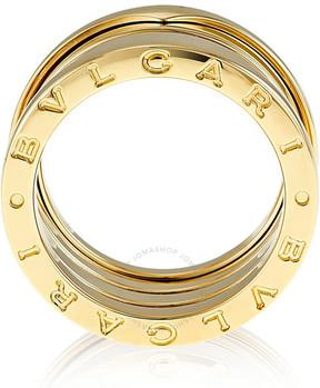 Bvlgari B.Zero1 4-Band 18k Yellow Gold Ring