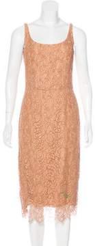 Barneys New York Barney's New York Lace Midi Dress
