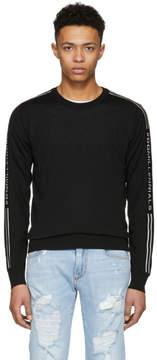 Dolce & Gabbana Black DGMillennials Logo Band Sweater