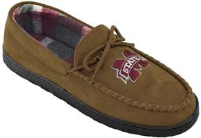 NCAA Men's Mississippi State Bulldogs Microsuede Moccasins