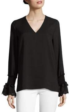 Saks Fifth Avenue BLACK Modish Blouse