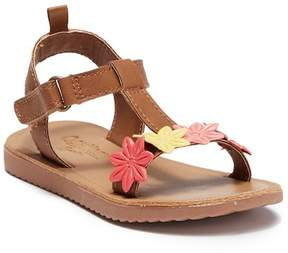 Osh Kosh OshKosh Colette Floral T-Strap Sandal (Toddler & Little Kid)