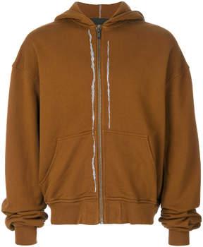 Haider Ackermann zip hoodie