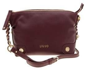 Liu Jo Women's Burgundy Polyester Shoulder Bag.