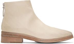 Marsèll White Listone Boots