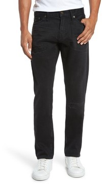 Jean Shop Men's Straight Leg Selvedge Jeans