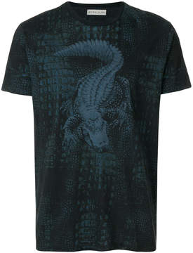 Etro alligator-print T-shirt