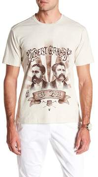 Robert Graham Movember Graphic Print Tee