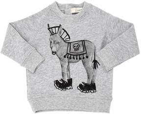 Stella McCartney Donkey Organic Cotton Sweatshirt