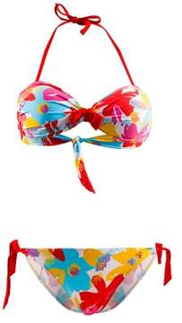 Bananamoon Banana Moon 2-piece Multicolor Girlsswimsuit Redpink Looped.