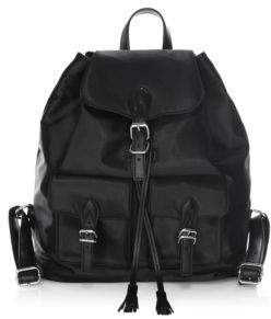 Rebecca Minkoff Alice Drawstring Backpack - BLACK - STYLE