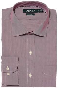 Lauren Ralph Lauren Non-Iron Poplin Classic Fit Dress Shirt Men's Long Sleeve Button Up