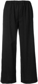 Aspesi cropped wide-leg trousers