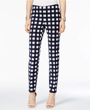 Alfani Printed Straight-Leg Pants, Created for Macy's
