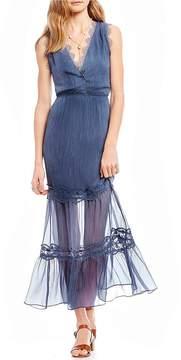 Chelsea & Violet Lace Detail Maxi Dress