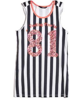 GUESS Striped Sequin '81 Tank (7-16)