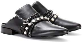 3.1 Phillip Lim Leather slippers