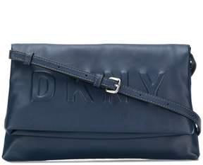 DKNY embossed logo crossbody bag