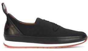 Vivienne Westwood Men's Black Polyamide Slip On Sneakers.