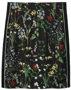 Violeta BY MANGO Floral print skirt