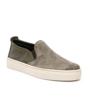 The Flexx Full Time Leather and Suede Sneakers