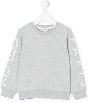 Kenzo logo print sweatshirt