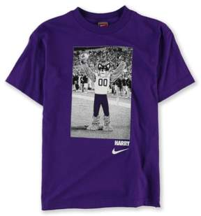 Nike Boys Harry Washington Mascot Graphic T-Shirt