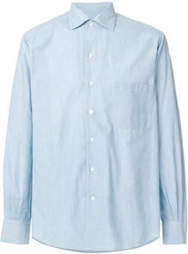 Loro Piana spread collar shirt