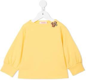 Familiar rib knit top