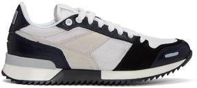 Ami Alexandre Mattiussi Navy Running Sneakers