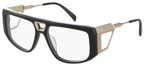 Balmain Two-Tone Wrap Optical Frames
