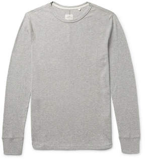 Rag & Bone Standard Issue Waffle-Knit Cotton T-Shirt