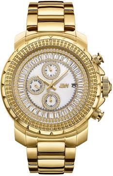 JBW Diamond Mens Gold Tone Bracelet Watch-J6347a
