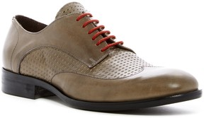 Bacco Bucci Textured Wingtip Leather Derby