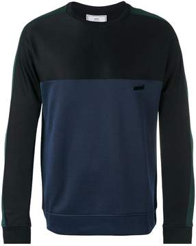 Ami Alexandre Mattiussi paneled sweatshirt