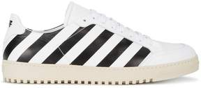Off-White diagonal stripe print sneakers