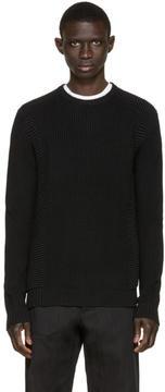 Pierre Balmain Black Knit Sweater