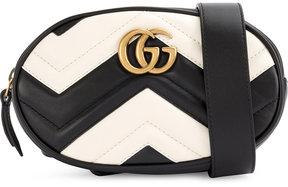 Gucci GG Marmont belt bag - BLACK - STYLE