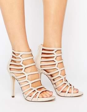 Call it SPRING Astausien Cut Out Heeled Sandals