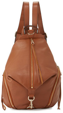 Rebecca Minkoff Julian Leather Backpack, Almond - ALMOND - STYLE