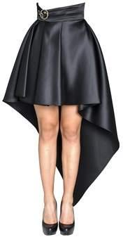 Elisabetta Franchi Women's Black Polyester Skirt.