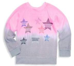 Butter Shoes Little Girl's Star Sequin Pullover