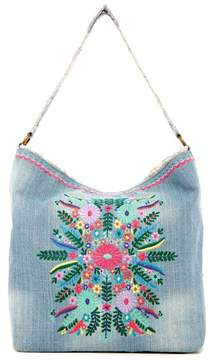 Steve Madden Azalea Embroidered Hobo
