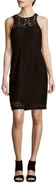 Donna Morgan Women's Harlow Lace Illusion Dress