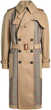 Alexander McQueen Cotton Trench Coat