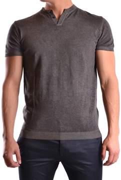 Isabel Benenato Men's Grey Cotton T-shirt.