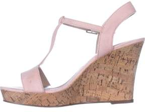 Charles David Charles by Womens libra Fabric Open Toe /blush