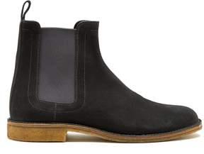 Bottega Veneta Topstitched suede chelsea boots